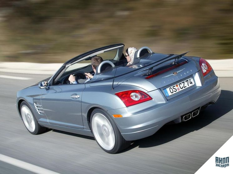 Chrysler Crossfire I кабриолет